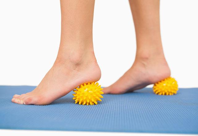 Ayak bağının gerilmesi. Yardım Öğrenmek