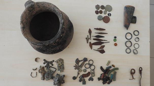 Bizans dönemine ait tarihi eser yakalandı
