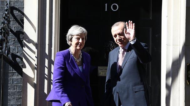 Cumhurbaşkanı Recep Tayyip Erdoğan İngiltere'den ayrıldı