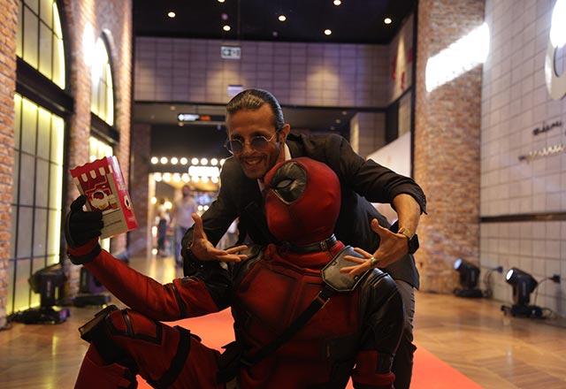 Deadpool 2 galasına yoğun ilgi