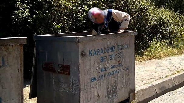 Çöpte yaptığını gören şoke oldu, evine kadar takip edince...