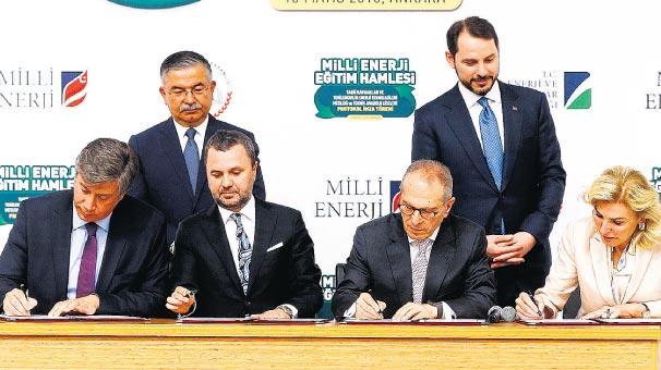 Milli enerji için eğitimde Atak