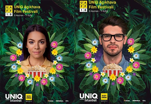 Açıkhava Film Festivali UNIQ İstanbul'da