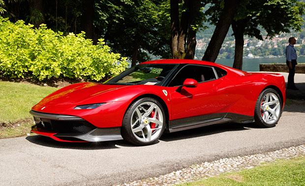 """Ferrari'nin yalnızca dünyada 1 tane olacak modeli """"SP38"""""""