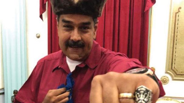 Resurrection of Venezuelan President Nicolas Maduro Praise