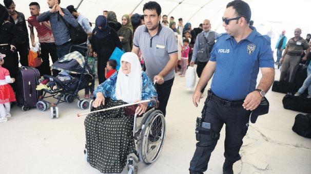 Bayrama giden Suriyeli sayısı otuz bine ulaştı