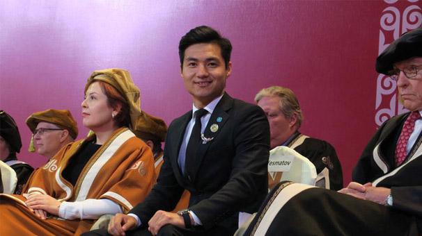 Engelli Kazak sporcunun azmi insanlara ilham veriyor
