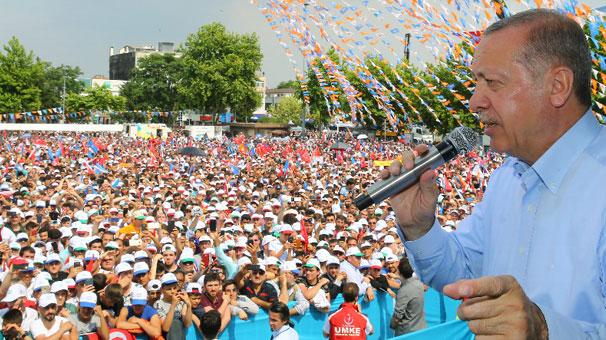 Son dakika: Cumhurbaşkanı Erdoğan: 24 Haziran'dan sonra bunlarla hesaplaşacağız