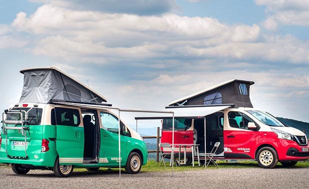 Nissan'ın karavan konseptli modelleri: e-NV200 ve NV300