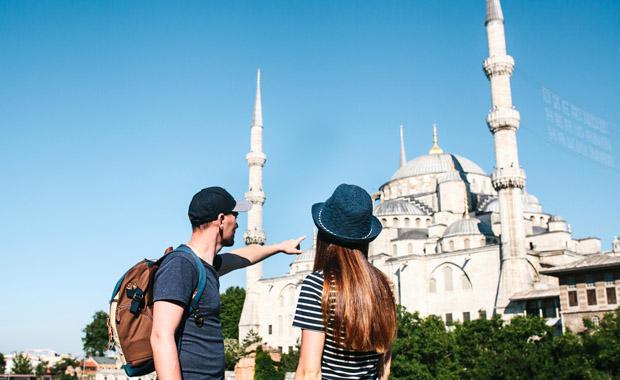 Türkiye'ye gelen turist sayısı %45 arttı
