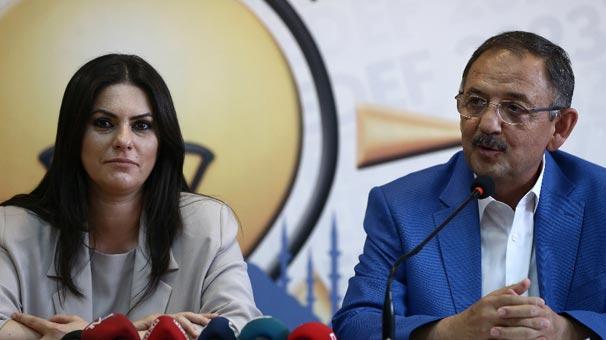 Bakanlar Sarıeroğlu ile Özhaseki iftara katıldı
