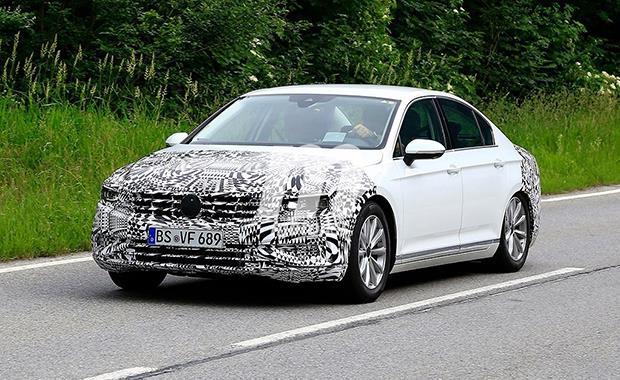 2019 Volkswagen Passat makyajlı haliyle görüntülendi