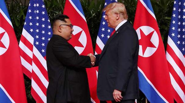 Son dakika… Trump: Kuzey Kore nükleer tehdit değil!