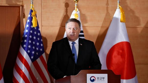ABD Dışişleri Bakanı Mike Pompeo'dan flaş Kuzey Kore açıklaması