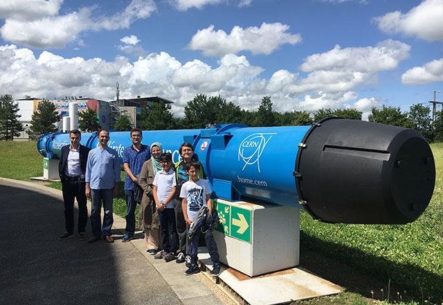 Eskişehirli çocuklar CERN'i gezdi