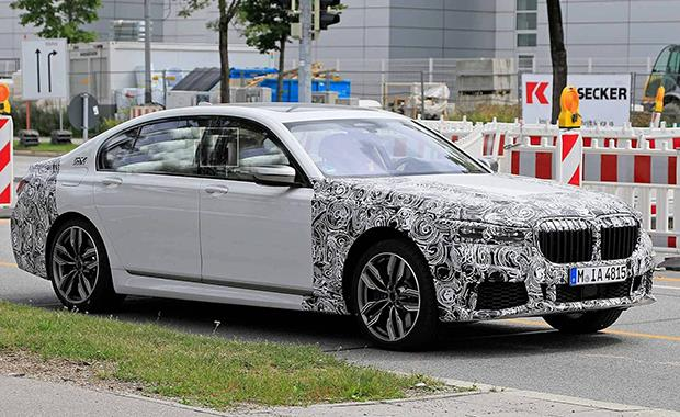 BMW 7 serisi'nin gizli görüntüleri ortaya çıktı