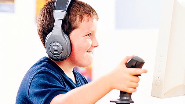 Video oyunda tehlikeye dikkat