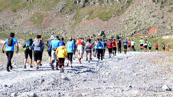 Uluslararası Erciyes Dağ Maratonu tamamlandı