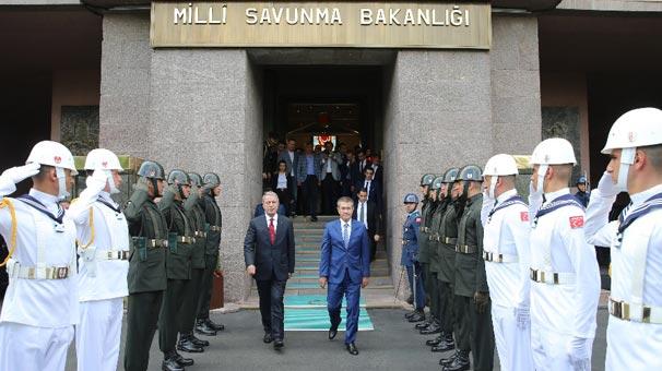 National Defense Minister Hulusi Akar Took Over From Nurettin Canikli