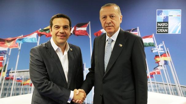Başkan Erdoğan ile Çipras görüştü