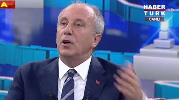 Son dakika... Muharrem İnce'den canlı yayında apolet açıklaması