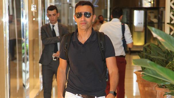 Mustafa Sandal'ın keyfi yerinde