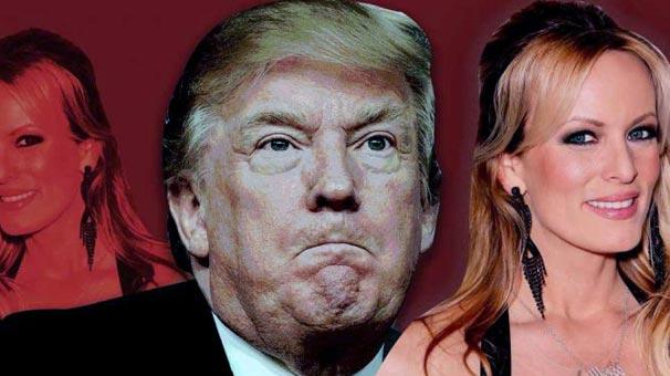 Trump'la ilişkiye giren porno yıldızı Stormy Daniels gözaltına alındı