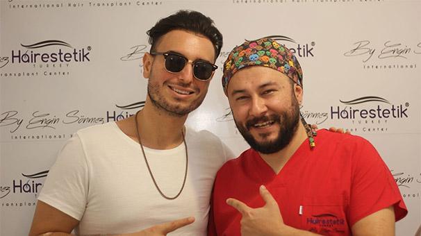Faydee saç ekimi için Türkiye'de