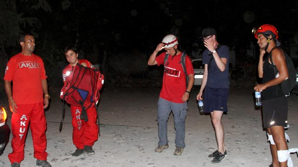 Kaybolan iki turist böyle bulundu