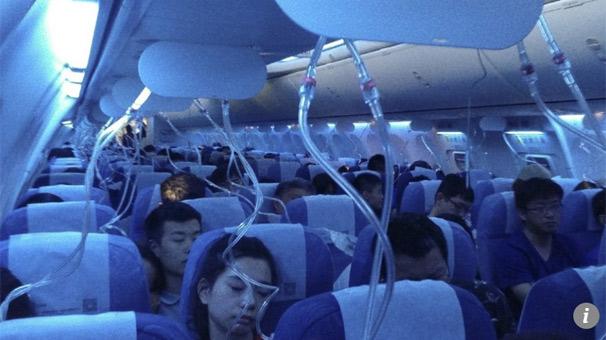 Son dakika... Pilot kokpitte sigara içti! Yolcu uçağı birden düştü...