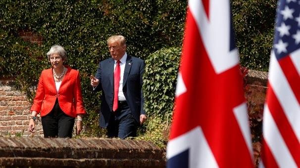 Trump'tan sert eleştiri: Bunlar yalan