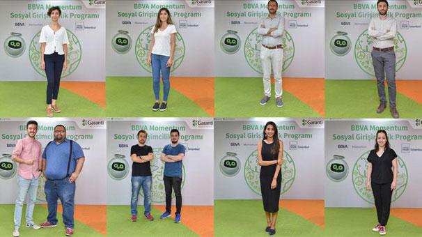 BBVA Momentum Sosyal Girişimcilik Programı'na katılacak girişimler belirlendi