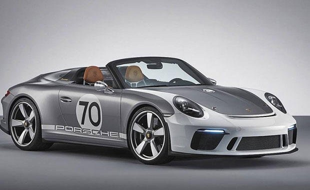 70'inci yıla özel Porsche 911 Speedster