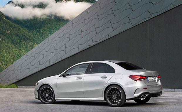 Yeni Mercedes A-Serisi sedan tanıtıldı