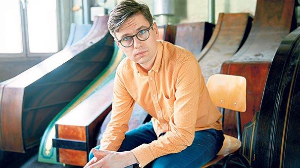 'Philip Glass müzikal bir mimar'