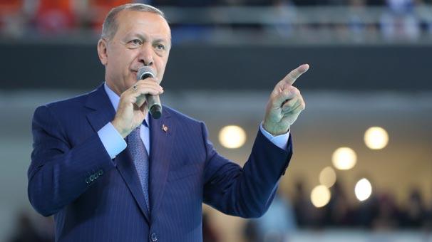 Son dakika...Cumhurbaşkanı Erdoğan: ABD İçişleri ve Adalet bakanlarının mal varlıklarını donduracağız!