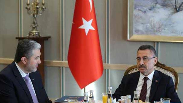 Cumhurbaşkanı Yardımcısı Oktay, MÜSİAD Başkanı'nı kabul etti