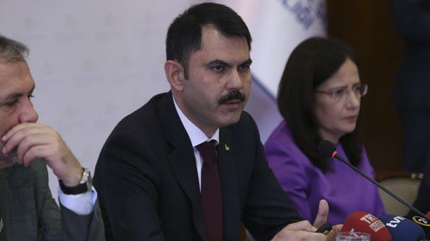 Çevre ve Şehircilik Bakanı Murat Kurum'dan flaş açıklamalar