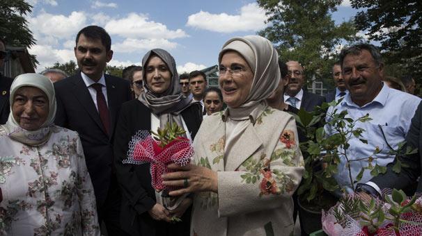 Emine Erdoğan TBMM'deki 'Sıfır Atık' projesini inceledi