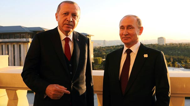 Son dakika... Cumhurbaşkanı Erdoğan ve Putin arasında kritik görüşme!