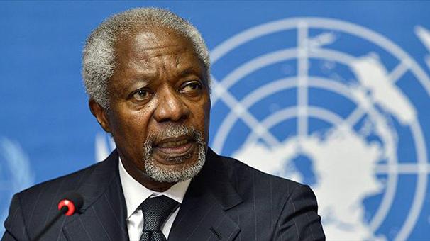 Son dakika... Kofi Annan hayatını kaybetti!
