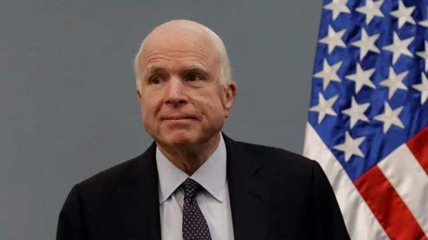 Son Dakika... ABD'li senatör John McCain hayatını kaybetti