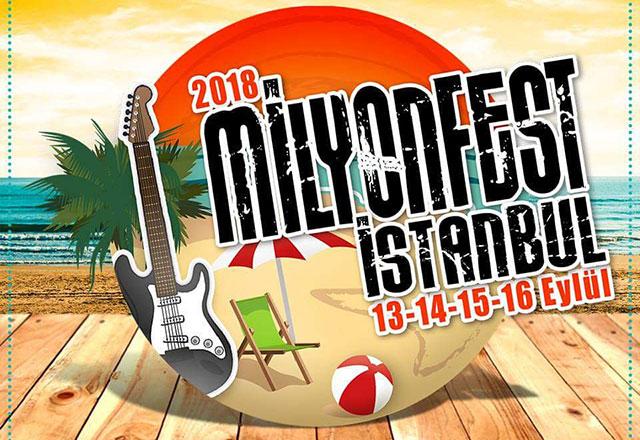 Yılın en büyük açık hava festivali Milyon Beach Kilyos'ta