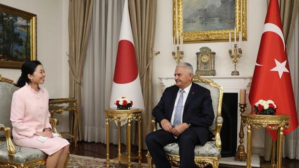 TBMM Başkanı Yıldırım, Japon Prensesi kabul etti