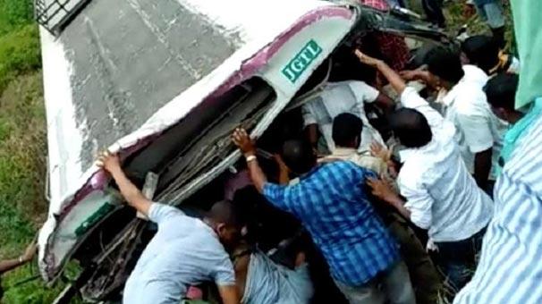 Feci kaza! 4'ü çocuk 55 kişi hayatını kaybetti