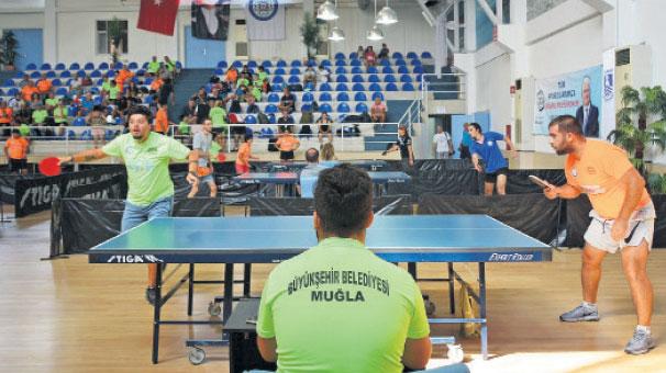 Muğla'da Masa Tenisi heyecanı