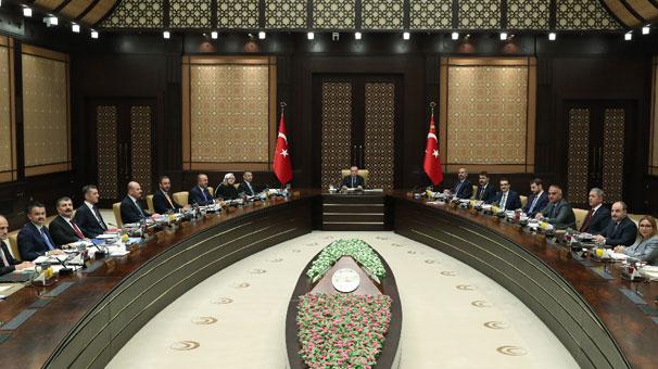 Son dakika... Cumhurbaşkanlığı Kabine Toplantısı başladı