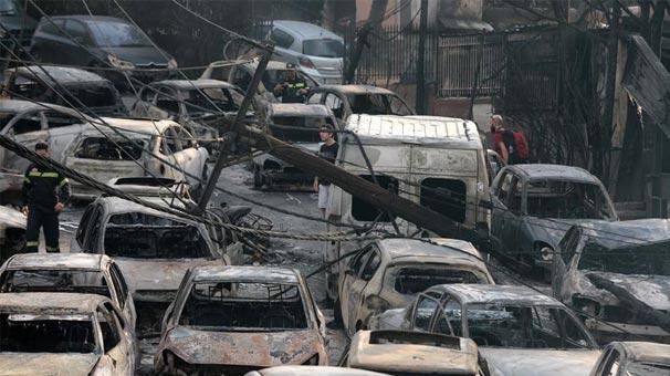 Atina'daki yangında ölenlerin sayısı 99 oldu
