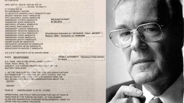 Son dakika: BBC, 12 Eylül belgelerini ortaya döktü! ABD Türkiye'deki darbeden...