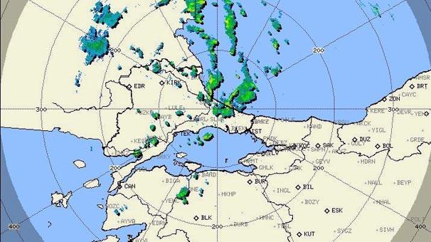 Son dakika... Meteoroloji İstanbul için saat verdi